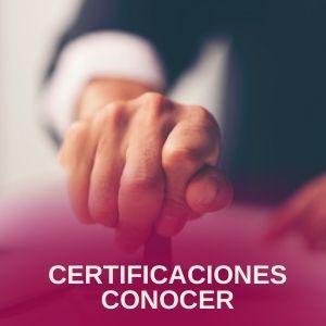 certificaciones conocer
